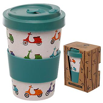 Bamboo Composite Scooter Screw Top Travel Mug X 1 Pack