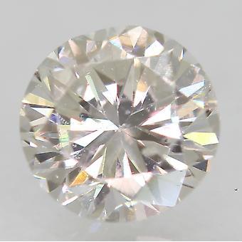 Zertifiziert 0.56 Karat F VS1 Runde Brilliant Enhanced Natural Loose Diamond 5.12mm