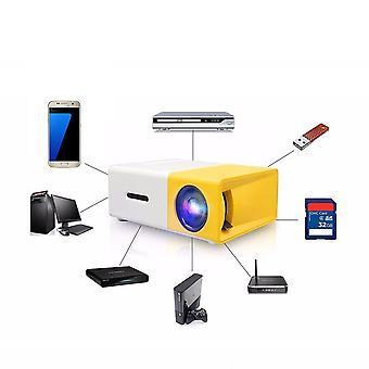 Led Mini Projector, Supports 1080p/hdmi/usb Audio/video Beamer, Home