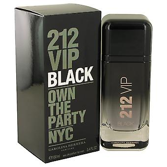 212 Vip Black Eau De Parfum Spray da Carolina Herrera 3.4 oz Eau De Parfum Spray