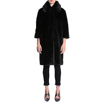Ainea F8f238b1 Women's Black Modal Coat