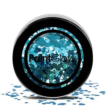 PaintGlow (chgr04) Chunky Cosmetic Glitter: Kaleidoscope 3g