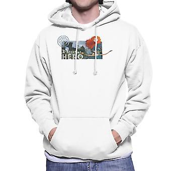Pixar Brave Be Your Own Hero Men's Hooded Sweatshirt