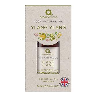 Aroma Home Ylang Ylang 100% Natural Oil 9ml