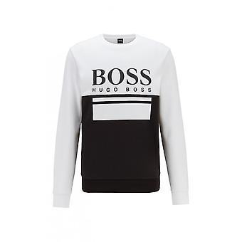 Hugo Boss Salbo 1 Slim Fit Black/white Sweatshirt