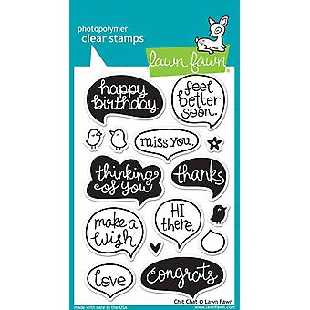 Lawn Fawn Timbres clairs - Chit Chat