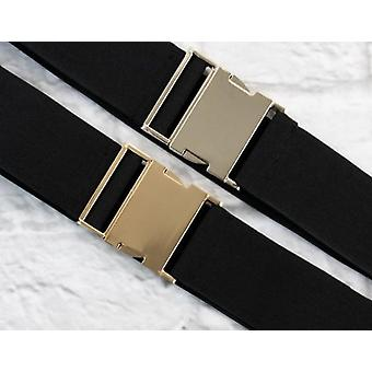 Wide Elastic Seatbelt Belt
