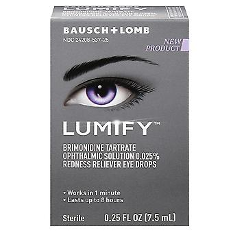 Bausch + lomb lumify redness reliever eye drops, 0.25 oz
