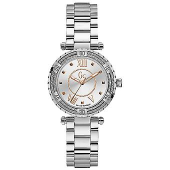 Gc watches ladydiver Watch Cable for Women Analog Quartz with Stainless Steel Bracelet Y41001L1