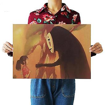 Anime Movie Poster Set, Decorative Painting Art Wall Stickers Home Decoration