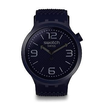 Swatch SO27N100 Big Bold BBNAVY Silicone Watch