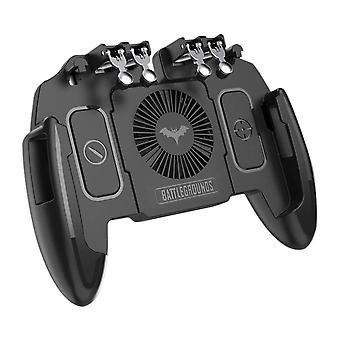 Pubg Mobile Joystick Controller Pour Ios, Android Six 6 Finger Operating Gamepad