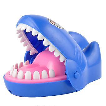 16x13.5x8cm Funny Shark Mouth Teeth Game Bite Finger Prank Toys