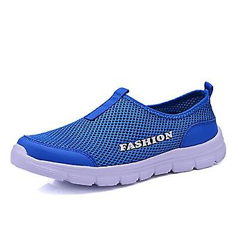 Hardloopschoenen, Men's Jogging en Mesh Summer Mesh Sneaker Casual Slip-on