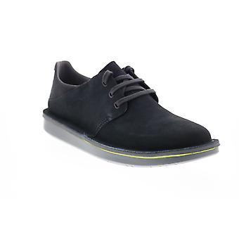 Camper Formiga  Mens Gray Nubuck Lace Up Euro Sneakers Shoes