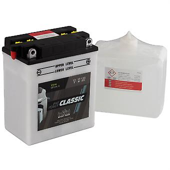 intAct CB12AL-A Classic Bike-Power Battery With Acid Pack