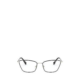 Miu Miu MU 52SV oro pálido / gafas femeninas negras