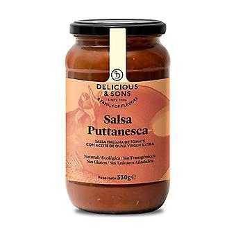 Organic Puttanesca Sauce 530 g