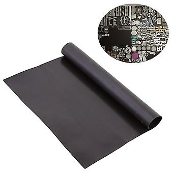 Ribber Soft Black Magnetic Mats For Cutting Dies Crafts