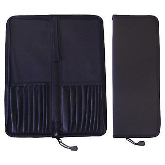 Major Brushes Zipped Folding Case for Up to 16 Brushes
