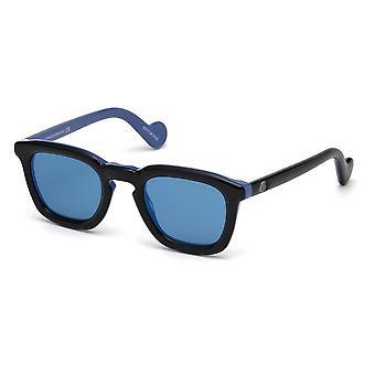 Lunettes de soleil Moncler ML 0006 05X Black/Blue Mirror