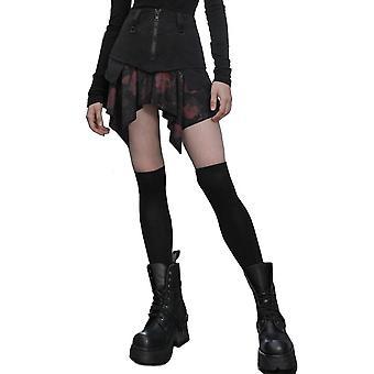 Punk Rave Chaos Girl Gothic Skirt