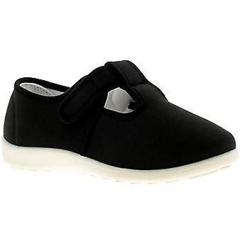 Dr Keller Dr Cheryl Womens Ladies Canvas Shoes Pumps Trainers Black UK Size