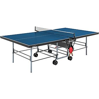 Mesa de tênis de mesa azul - dobrável - uso interno