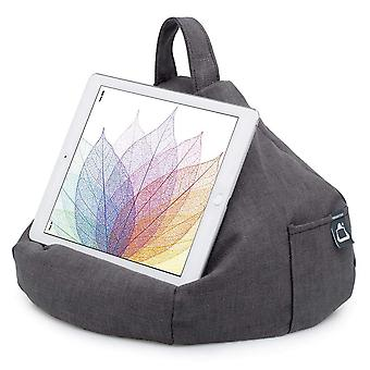 Ipad, tablet & ereader bean bag cushion by ibeani - slate grey