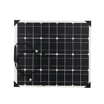 Flexibilní monokrystalické křemíkové solární panely s vysokým konverzním panelovým systémem pro domácí použití