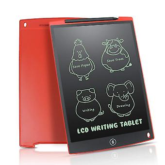 Newyes rouge 12 pouces lcd écriture tablette numérique dessin tablette écriture pads électroniques tablettes ewriter pour les enfants dessinant des cadeaux