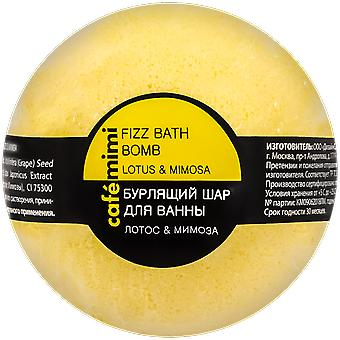 Cafe Mimi Bath and Effervescent Pump Lotus and Mimosa 120 gr