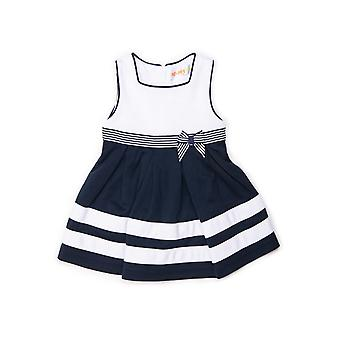 Baby Globe Girls Dress Blue Striped