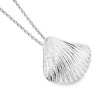 Sterling Silver Hänge Halsband - Origins Scallop Shell Design