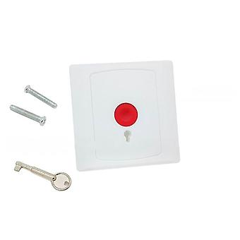 Panic Button Plastic Switch For Alarm System Fire Emergency Swtich