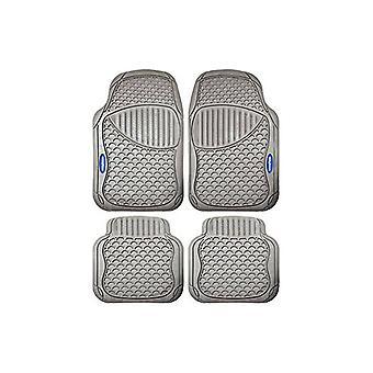 Juego de alfombras de piso para coche Goodyear GOD9022 Universal Beige (4 uds)