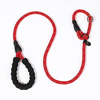 Hond Leiband Slip Rope Lead Leash Strong Heavy Duty Braided Rope Pull Training Lead Leashes Maat M