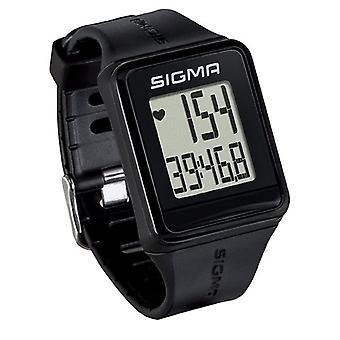 Sigma Watch ID.Go Monitor de frecuencia cardíaca negro unisex adulto, negro, de un tamaño