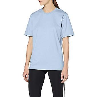 Trigema 537202 T-Shirt, Blue (Ice Blue/Melange 240), Large Woman