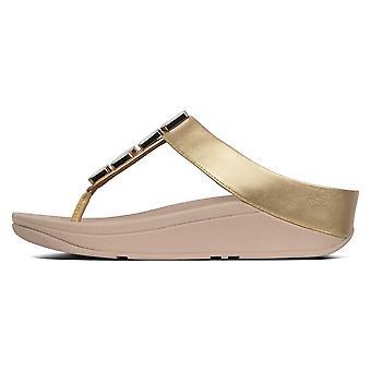 Fitflop™ Fino Shellstone Toe-post Sandal