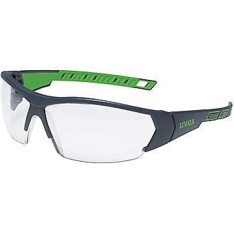 I-Works Schutzbrille - Suprav. Excellence - Schw.-Grün/Transparent