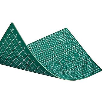 45*30Cm double green cutting pad a3 double-sided cutting pad 45 * 30cm non-slip medium knife pad out of grid board pvc cutting pad az22212