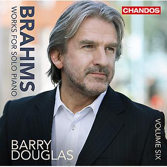 Brahms / Douglas - Brahms: Works for Solo Piano; Vol. 6 [CD] USA import