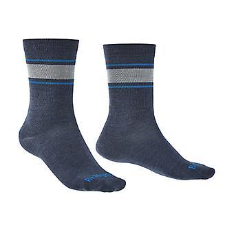 Bridgedale EVERYDAY Sock / Liner Merino Performance Mens - Medium Sodalite Blue