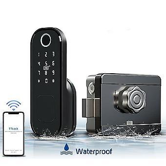 Impronta digitale Bluetooth Wifi, blocco del cerchio, codice digitale smart card elettronico, porta
