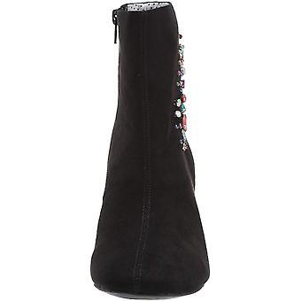 Betsey Johnson Women's LEA Ankle Boot, Black, 7 M US
