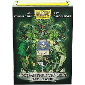 Dragon Shield - King Mothar Vangard: Coat-of-Arms Classic Art Sleeves - 100 Sleeves