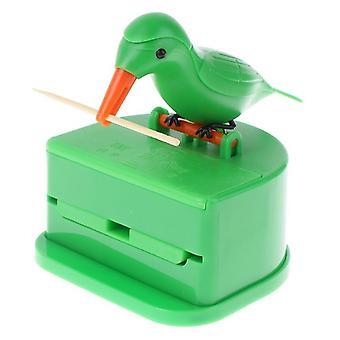 Cute Bird Toothpick Holder Dispenser
