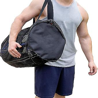 Sand Away Protable Mesh Bag Beach Storage Sundries Bags Sports Bags