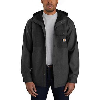 Carhartt Mens Wind & Rain Relaxed Fit Bonded Shirt Jacket
